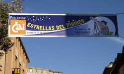 """Jornadas de Astronomía """"Estrellas en el Pirineo"""" 2011"""